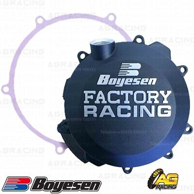 Boyesen Factory Racing Black Clutch Cover For KTM EXC SX 17-18 Husqvarna TC TE