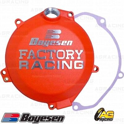Boyesen Factory Racing Orange Clutch Cover For KTM SXF EXCF Husqvarna FE 250 350