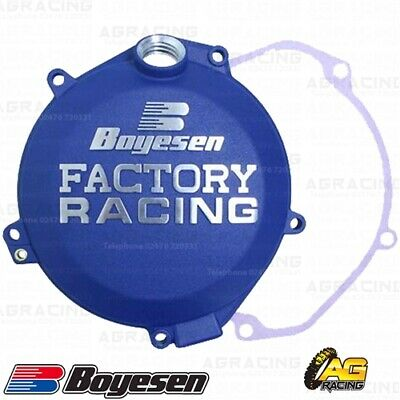 Boyesen Factory Racing Blue Clutch Cover For Husqvarna FX 350 2017