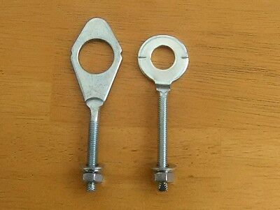 Honda C50 C70 C90 Cub Passport Rear Wheel Chain Adjusters