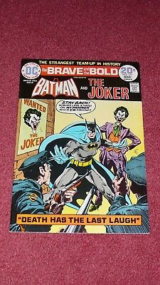 BRAVE AND THE BOLD #111 - The Joker, VF/NM, 9.0 HIGH GRADE (1974)