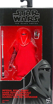 "STAR WARS BLACK SERIES EMPEROR`s ROYAL GUARD ACTIONFIGURE 6"" INCH VON HASBRO #38"
