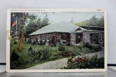New Hampshire NH Polar Caves Entrance Building Postcard Old Vintage Card View PC