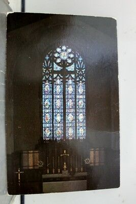 Georgia GA Atlanta Lutheran Church Great Redemption Window Postcard Old Vintage