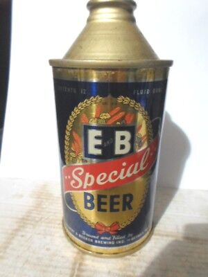 E & B Special High Profile Cone Top Beer  Can / Detroit -[Read Description]-