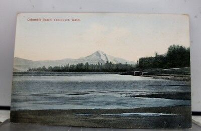 Washington WA Vancouver Columbia Beach Postcard Old Vintage Card View Standard