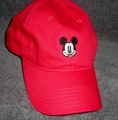 Disney Mickey Mouse Embroidered Adjustable Baseball Cap