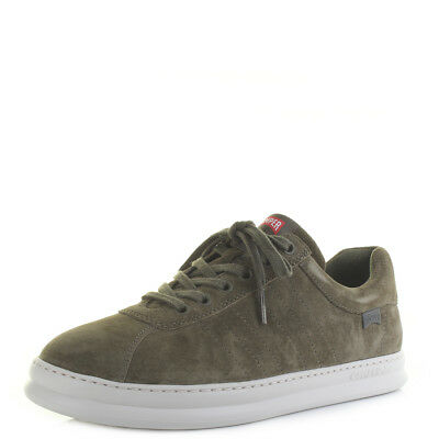 Mens Camper Runner Four Peggy Kiwi Green Suede Leather Trainers Size