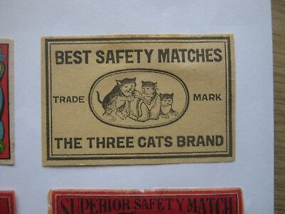 Old Japanese Cat Matchbox Label.design 6.