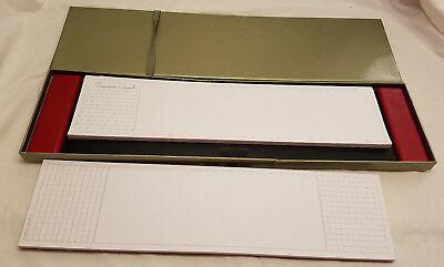 LEVENGER Leather Blotter Desk Pad and 2 Pack Red Margin Pads Graph & Plain Date