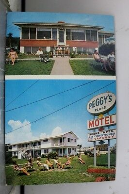 South Carolina SC Myrtle Beach Peggy's Place Postcard Old Vintage Card View Post