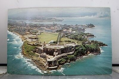 Puerto Rico El Morro San Juan Greetings Postcard Old Vintage Card View Standard