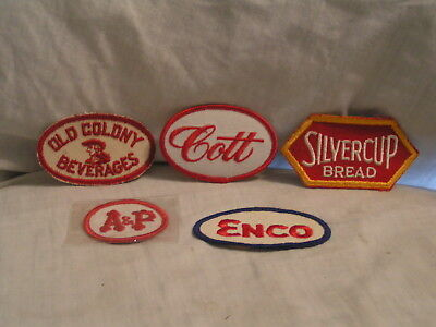 One Lot Of 5  Food And Beverage  Patches