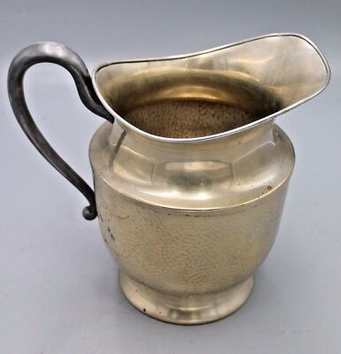 """Vintage Nickel Silver Plated Pitcher 433 66 8"""" high. Six (6) Cup Capacity. GOOD!"""