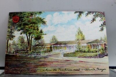 Georgia GA Atlanta Mammy Shanty Peachtrees Postcard Old Vintage Card View Post