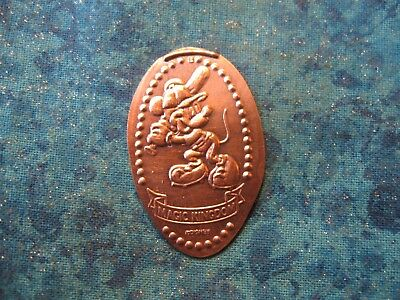 DISNEY MICKEY MOUSE BATTING Elongated Penny Pressed Smashed 5
