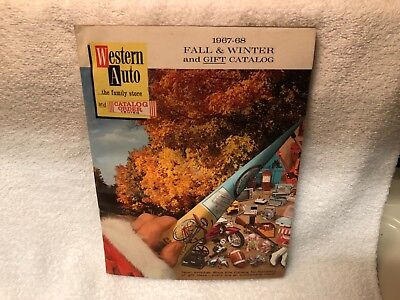 1967-68 Fall & Winter Catalog Western Auto 223 Pages W/ Toy Section