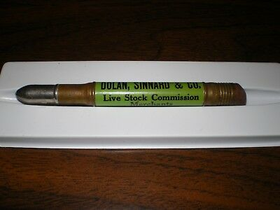 Dolan Sinnard & Co Live Stock Commission US Yards Chicago Bullet Pencil