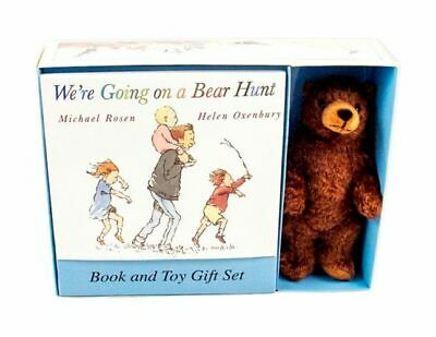 NEW WE'RE GOING ON A BEAR HUNT BOOK AND PLUSH By Michael Rosen Paperback