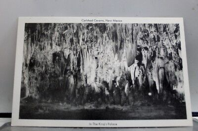 New Mexico NM Carlsbad Caverns Kings Palace Postcard Old Vintage Card View Post