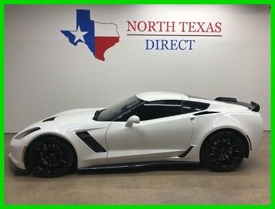 2017 Chevrolet Corvette Z06 Supercharged Gps Navigation Leather 2017 Z06 Supercharged Gps Navigation Leather Used 6.2L V8 16V Automatic Rear