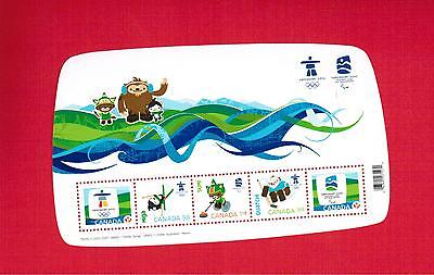 2009  Timbres Canada Stamps Mini  Sheet  # 2305 **  Vancouver Olympic L950