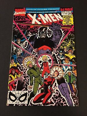 X-Men Annual 14 Gambit White Pages