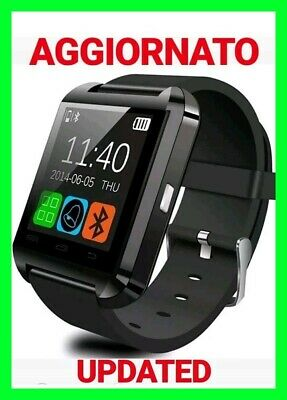Smartwatch Orologio U8 Telefono Cellulare Bluetooth Sim Card Micro Android Ios