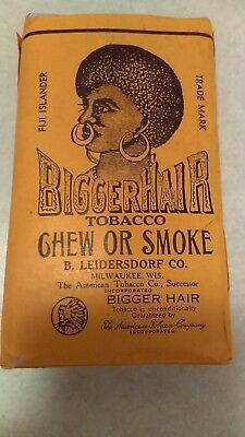 Vintage 1950's Bigger Hair Chew Or Smoke Sealed Pack Super Clean