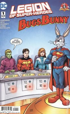 Legion of Super-Heroes Bugs Bunny Special (DC) 1A 2017 Grummett FN Stock Image