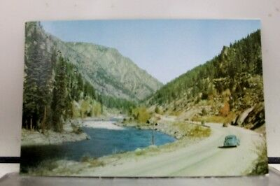 Washington WA Stevens Pass Wenatchee Postcard Old Vintage Card View Standard PC