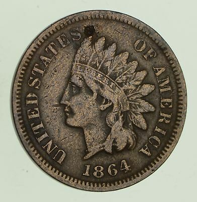1864-L Indian Head Cent - Sharp *8646