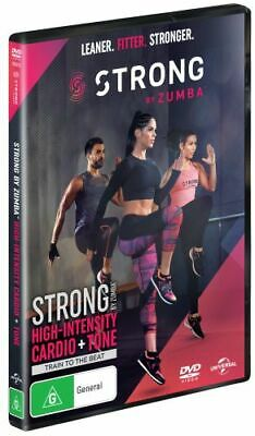 NEW Strong by Zumba DVD Free Shipping