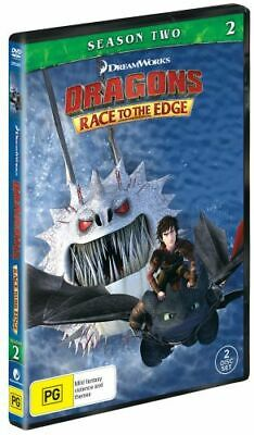 NEW Dragons : Race to the Edge DVD Free Shipping