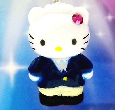Hello Kitty X Dear Daniel College Student Swarovski Elements Crystal Japan Charm