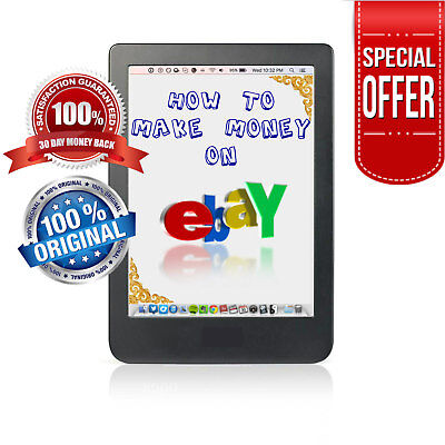 Make Money $ on eBay Social Online Marketing PDF eBook + 6 Bonus+ Resell Rights