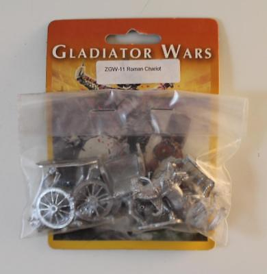 Old Glory Gladiator Wars 25mm Roman Chariot Pack MINT