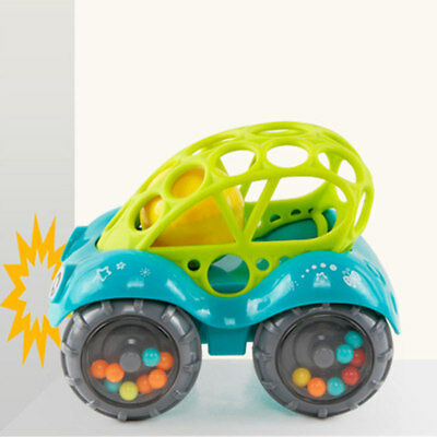 1Pc Children Mini Rattle Roll Car Cartoon Vehicles Kids Toy Cars for Toddlers