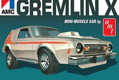 Amt 1077 Retro-Deluxe 1974 AMC Gremlin X Mini-Muscle Car plastic model kit 1/25