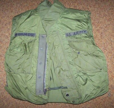 Flak Jacket, Od Green, Size Large, 1969 Dated, U.s. Issue *nice*