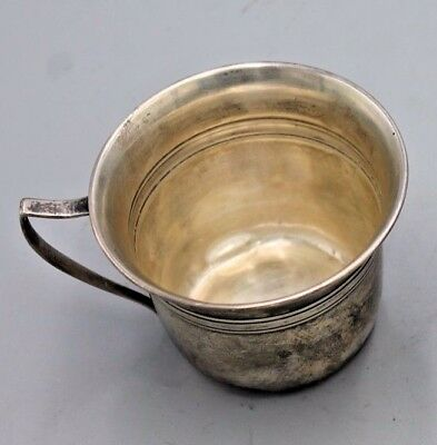 Sterling Silver Baby Drinking Cup C1204 on bottom