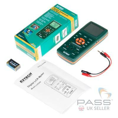 NEW Extech LCR200 Passive Component LCR Meter / Genuine Extech UK