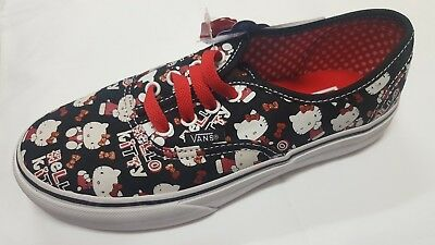 5837f81fb7 Girls Authentic  Hello Kitty  VANS size 2 ...
