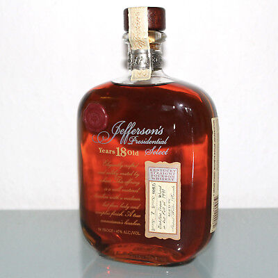 Jefferson's Presidential Select 18 Years Kentucky Straight Bourbon Whiskey 0,75l