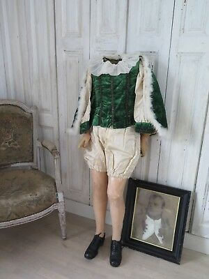 FRANKREICH Antique NAPOLEON Kinder Kleidung Costume for Mannequin french Shabby