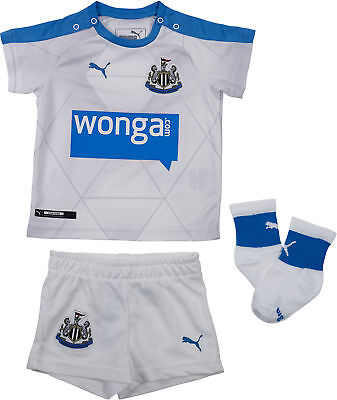 1bfdcccb1 Puma Newcastle United Away Baby Kit Football NUFC Supporters Kit 2-12 Months