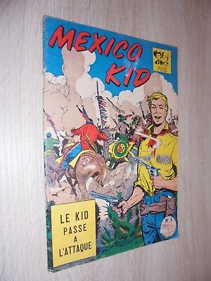 Mexico kid n° 1 Le kid passe à l'attaque