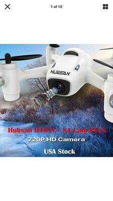 Hubsan X4 Plus H107C+ RC Headless Quadcopter Drone with 720P HD Camera LED RTF