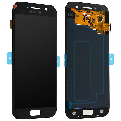 LCD replacement part with touchscreen for Samsung Galaxy A3 2017 - Black