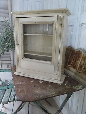 Antik Apothekerschrank Vitrine - Apothecary Cabinet - Farmhouse - french antique